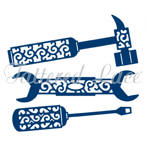 Tattered Lace Die Tool Box Tools - D770